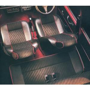 Rear Seat Cover Kit - Cooper - Mini 90-91