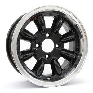 6 x 13 Ultralite Mini Wheel - Black
