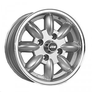 5.5 x 13 Minilight Wheel - Silver/Polished Rim