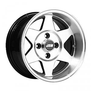 7 x 13 Starmag 2 Deep Dish Wheel - Black Hi-Lite