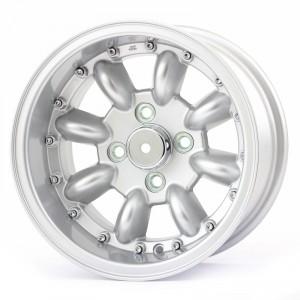 7 x 13 Superlight Split Rim Wheel - Silver/Polished Rim