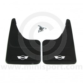 Genuine Rear Mini Mudflaps pair