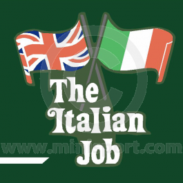Italian Job Decal Kit - - for Non-White Minis