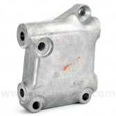 Lower radiator bracket (12A361) alloy mounting block.