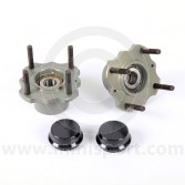 21A1277ABUILT Mini Sport Alloy Lightweight Rear Hub & Timken Bearing Set