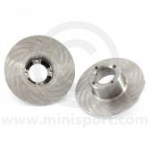 """21A2612G/7.9 Grooved 7.9"""" Mini brake discs for Mini Sport 7.9"""" 4 pot alloy calipers only"""