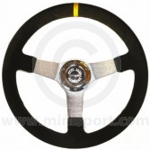 Rally Steering Wheel - 340mm Alcantara