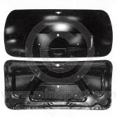 Mini MK1 Open frame boot lid