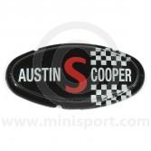 Austin Cooper S Mk2 Bonnet Badge
