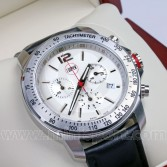 Limited edition Cooper Car Company stainless steel Swiss chronograph watch.