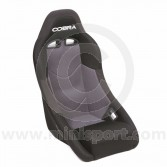 Cobra Clubman Seat - Black/Grey Centre
