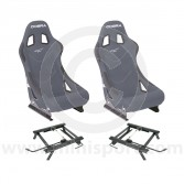 Cobra Monaco Pro Seat Package - Grey