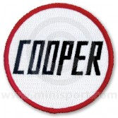 Embroidered Cooper patch