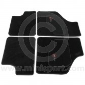 MCPIS.CM-SL Cooper Logo Luxury Binded Carpet Mat Set