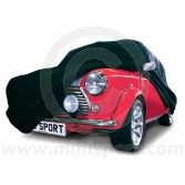 Classic Mini car cover in black