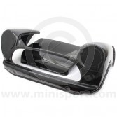 CUR006W Mini Carbon Fibre Weave Front inc Removable Bonnet