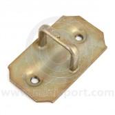 CZH627 Mini door striker plate, loop type, located on B post of all internal hinge type models