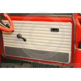 Mini Monte Carlo Door panel card with carpeted kick panel 70on
