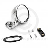 Classic Mini Domed Right Hand Mirror Stainless steel