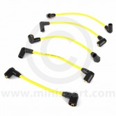 Yellow - 7mm Silicone Spark Plug Lead Set 81-96