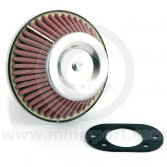 Mini sport cone air filter HIF44 carb - Mini 1275cc