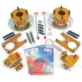 KAD1012070 Kad Mini rear brake disc and caliper conversion kit