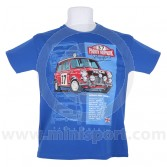 Paddy Hopkirk 33 EJB T Shirt - Blue Child Large