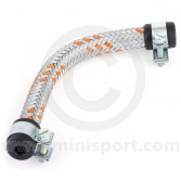 Stainless Braided Fuel Hose - 6''x5/16'' ID