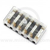 6-way - Fuse box - Screw Terminal