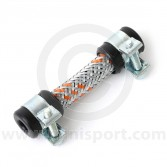 Stainless Braided Fuel Hose - 2.5''x1/4'' ID