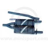 """LS01MIGTTP Maniflow 1 3/4"""" Miglia Lookalike Twin Tailpipes Mini System"""