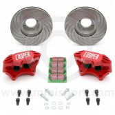 """Cooper Car Company 8.4"""" Vented Brake Kit for Classic Minis"""