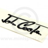 John Cooper Signature Decals - White