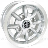Minator 5'' x 10'' Alloy Wheel - Silver
