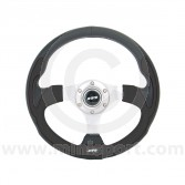 Mountney Sport Mini Steering Wheel - Carbon Inset