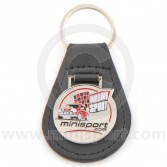 Mini Sport Leather Keyring
