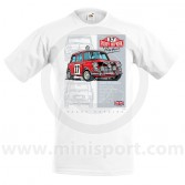 Paddy Hopkirk 33 EJB T Shirt - White