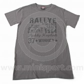 Paddy Hopkirk Collection Rallye de Monte Carlo Dark Grey T Shirt