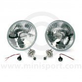 Mini Halogen Headlight Kit - RHD by Wipac Quadoptic