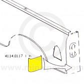 MCR41.14.01.17 LH Rear Corner Repair below Tail Lamp - Mini Pick-up LH