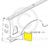 MCR41.14.01.18 RH Rear Corner Repair below Tail Lamp - Mini Pick-up LH