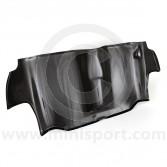 Carbon Fibre Rear Seat Bulkhead Panel - Weave