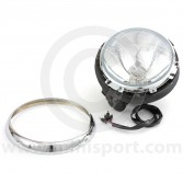 Complete Mini Headlight Assembly (LHD) - with rim and motor