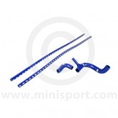 SAMTCS-187C-B Mini Silicone Hose Kit - SPi - Blue