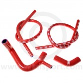Samco Silicone Hose Kit - Mini 850/998/1098 - Red