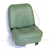 Mini Monte Carlo Fixed Front and Rear Seat Cover Kit