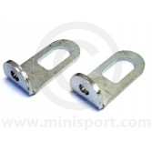 Mini Engine Lift Brackets - Pair - Plated