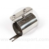 Mini Fuel Filter Bracket - SPi and MPi - Stainless Steel