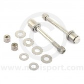 Front Shock Absorber Fitting Kit - Stainless Steel