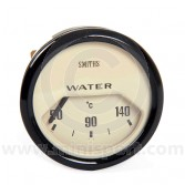 BT2240-04B Smiths Water Temperature Gauge magnolia face & black bezel